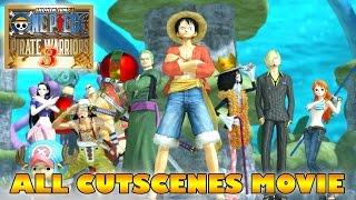 ONE PIECE Movie: Pirate Warriors 3 All Cutscenes (ENGLISH SUB)