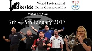 LAKESIDE WORLD DARTS CHAMPIONSHIPS 2017 - Tuesday 10th Jan Session 2