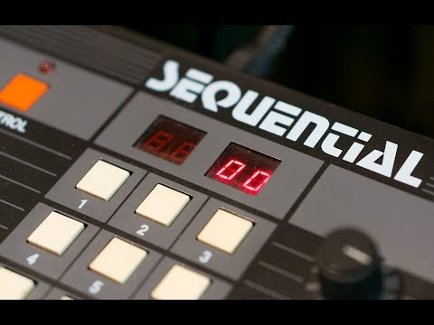 Sequential TOM - One of the most awesome drum machines you can get