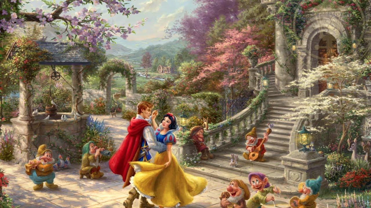 a9175409db95 Thomas Kinkade Legacy Artist Dirk Wunderlich in Disney Springs at Walt  Disney World