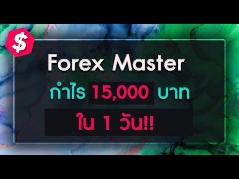 สอน forex - ทำกำไร 15,000 บาทต่อวัน (มือใหม่ เริ่มได้)