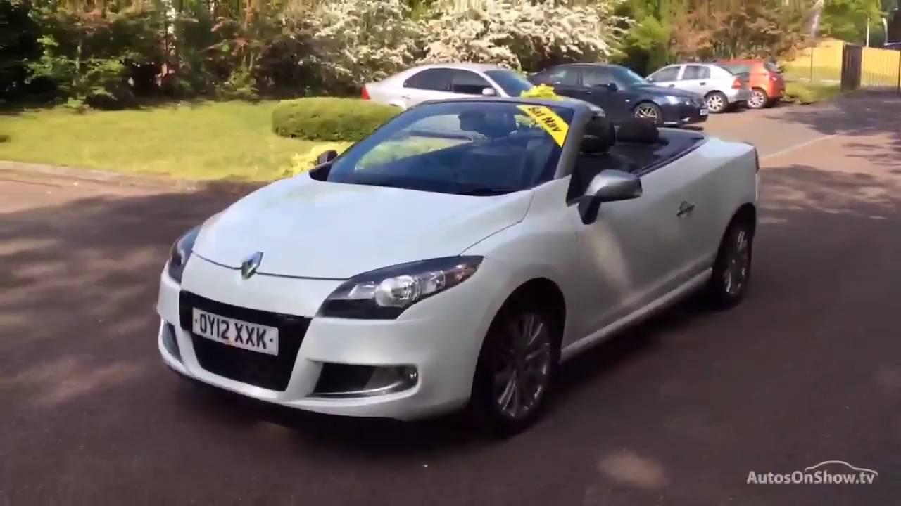 Renault Megane Gt Line Tomtom Tce White 2012 Oy12xxk Youtube