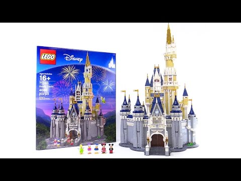 LEGO Disney Castle detailed review! 71040