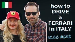 How to drive a Ferrari in Maranello - Did we get a speeding ticket??
