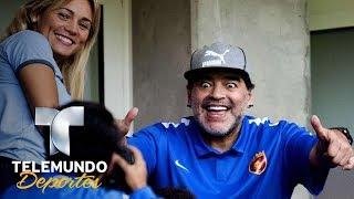 Maradona se roba el foco en el último partido del PSV | ¿Sabías qué...? | Telemundo Deportes