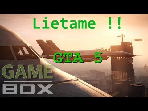 GTA V | Flying With Jumbo Jet | Lietanie S Lietadlom Jumbo Jet