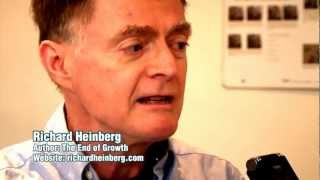 peak oil richard heinberg the end of growth interview