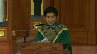 Fr. Jiha Lim's Homily for the 19th Sunday in Ordinary Time