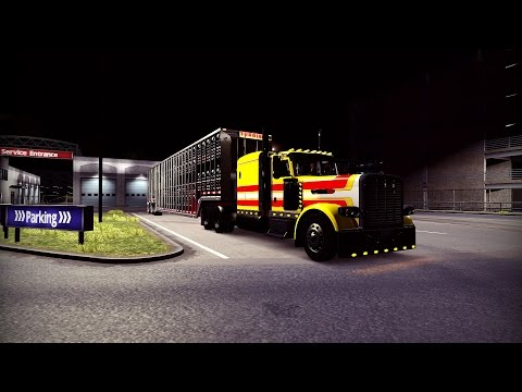 American Truck Simulator: Peterbilt 389 Pride n Class cattle hauler