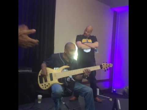 Bassist Joel Smith in practice 2016 RARE FOOTAGE PART 1!!!!