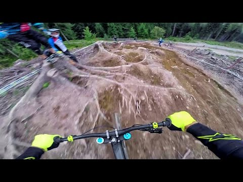European Downhill Cup Leogang 2016 - Course Preview Fabio Wibmer