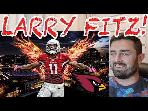 Rugby Fan Reacts to LARRY FITZGERALD NFL Career Highlights!
