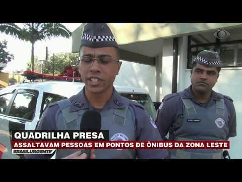 SP: Bando aterroriza trabalhadores em ponto de ônibus