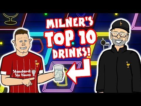 🥤JAMES MILNER's TOP 10 DRINKS🥤 ⚠️Spoiler Alert⚠️