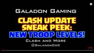 clash of clans update(novos niveis de tropas e nova tropa negra)