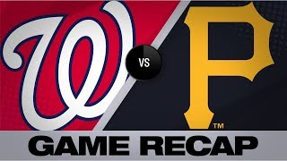 6-run 3rd propels Nationals to 11-1 win | Pirates-Nationals Game Highlights 8/21/19