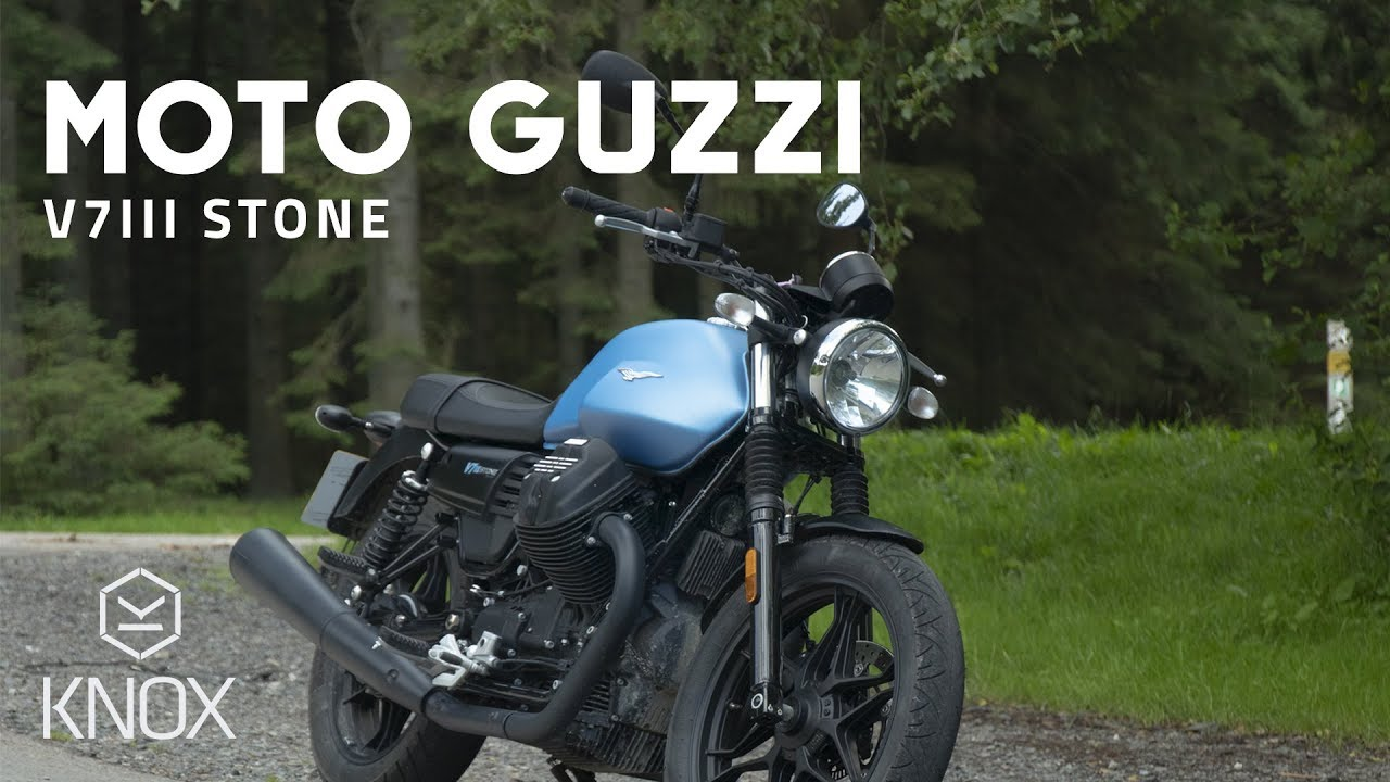 Moto Guzzi V7iii Stone Review From Knox Youtube