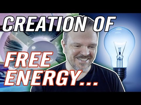 FREE Renewable Energy, Gravity Fed, Green Electricity Genera