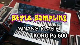 Lagu Minang Lenyai Zalmon - Style Pop Minang KORG Pa 600