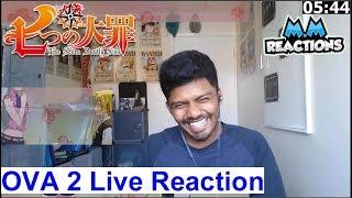 Short Stories & Some Answers! - The Seven Deadly Sins OVA 02 Live Reaction (Nanatsu no Taizai)