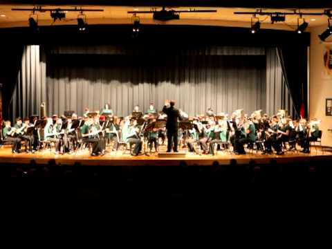 2012 Winter Concert HTMS 8th Grade Band - Rudolph