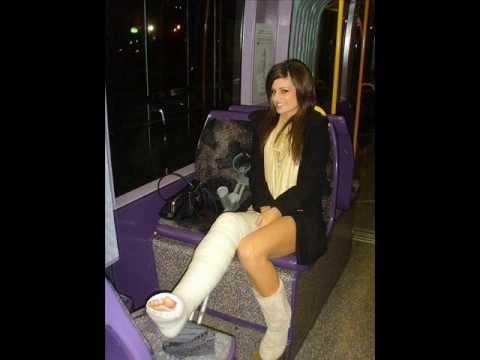 Hot girl slc crutching - 1 part 10