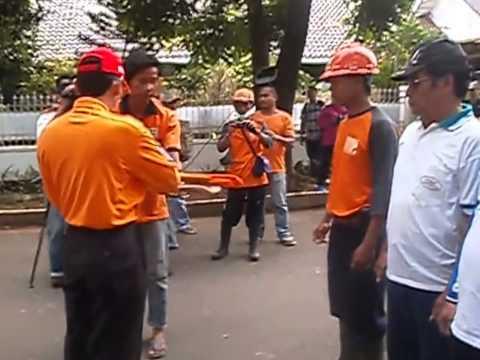 Kegiatan Aksi Jakarta Bersih Tingkat Kota Adm. Jakarta Selatan di Wilayah Kecamatan Tebet