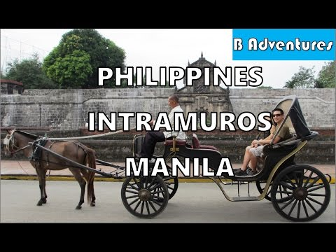 Manila: Intramuros Old Spanish City, Jeepney Bus & MRT, Phil