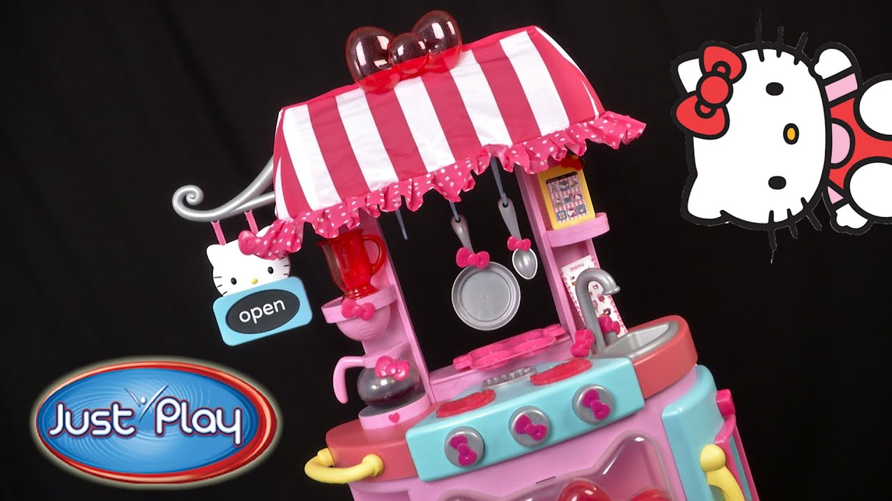 Hello Kitty Play Date Kitchen Cafe From Just