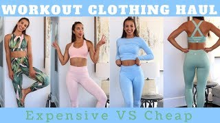 Workout Clothing Haul | Expensive vs CHEAP Sets