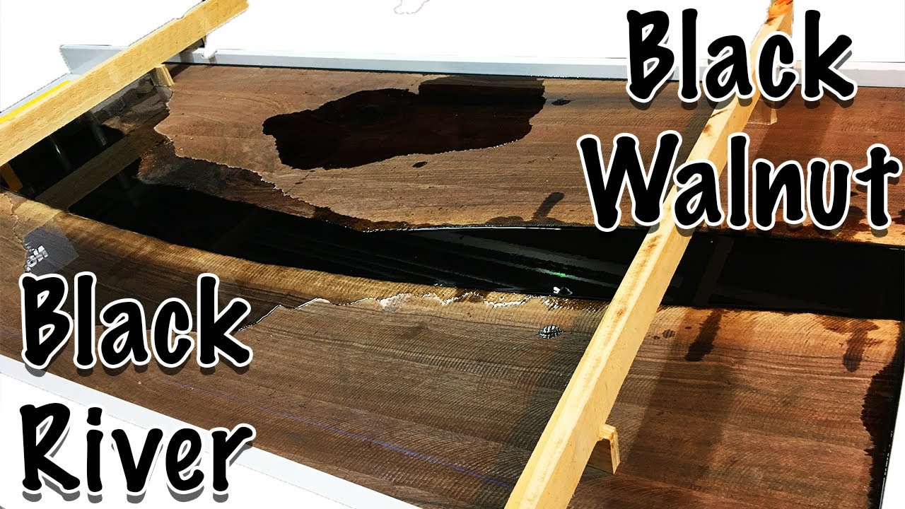 Building an Epoxy Conference Table with Black River || Part 1