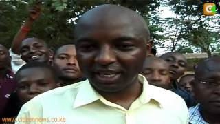 Irungu Kang'ata MP elect of Kiharu congratulates Uhuru Kenyatta on his victory.