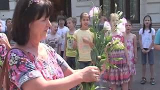 Meglepetés flashmob a tanárnőnek
