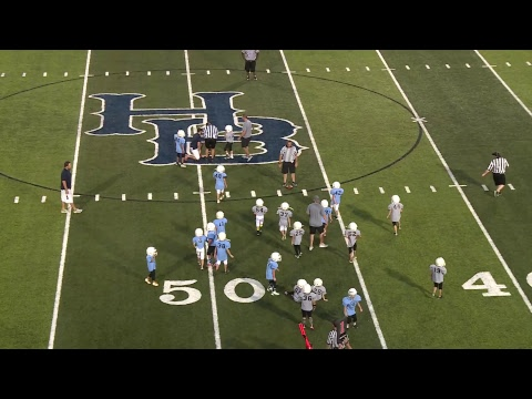 Kiwanis Kids Day Football | Blue vs Gray 1st/2nd Grade