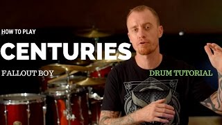 Centuries By Fallout Boy Video Drum Lesson Sample