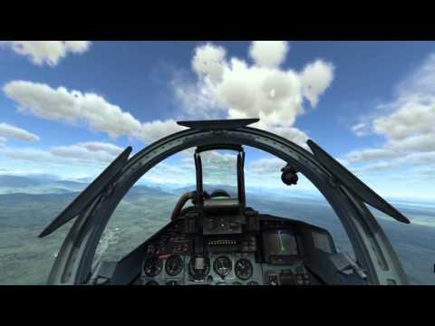 DCS World 1.5.2: Su-27 Ultimate Argument Campaign Mission 9: Su-25 Escort. NO COMMENTARY/NARRATION