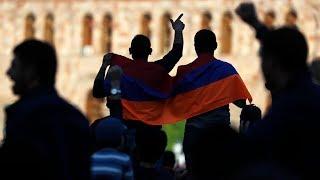 """Армения: год после """"бархатной"""" революции - специальный репортаж // Деловые новости и новости бизнеса"""