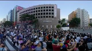 【360度動画】 博多祇園山笠追い山2018 土居流 thumbnail