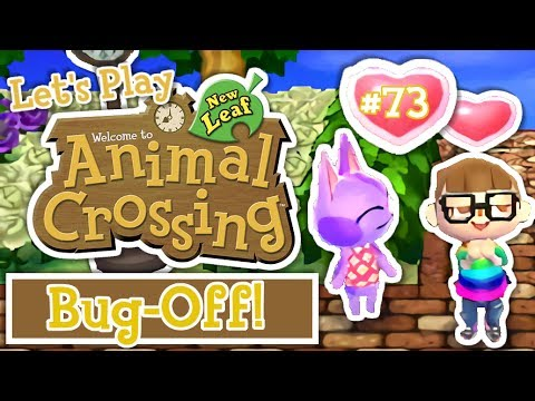 Let's Play: Animal Crossing New Leaf Welcome Amiibo (Ep 73)