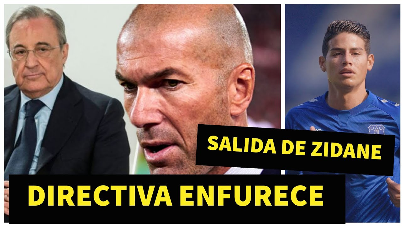 FLORENTINO ULTIMATUM A ZIDANE JAMES RODRIGUEZ ERA APROVECHABLE REAL MADRID