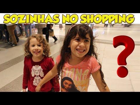 PERDIDAS E SOZINHAS NO SHOPPING? - FT Erlania e Valentina