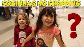 CRIANÇAS PASSEANDO PELO SHOPPING - FT Erlania e Valentina
