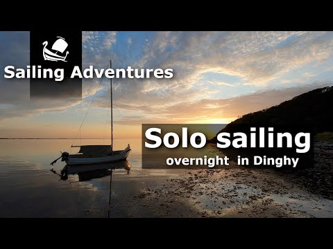 2 days solo sailing in Sejerøbugten and overnight in Dinghy. Sailing adventures on a small budget.