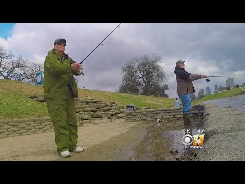 Urban Fishing Program Replenishes Trinity With Trout