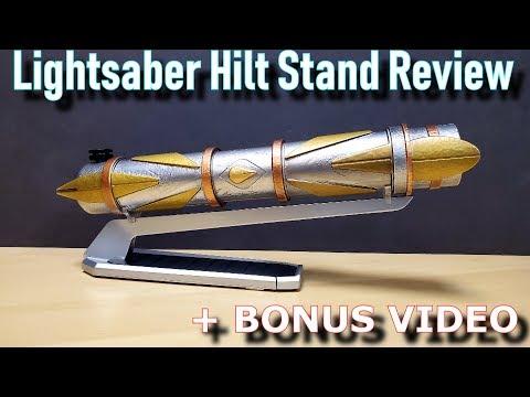 Brand New Star Wars Galaxy's Edge Lightsaber Hilt Stand