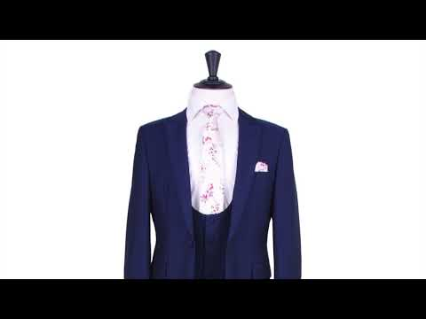 royal blue suit hire range from anthony formal wear.