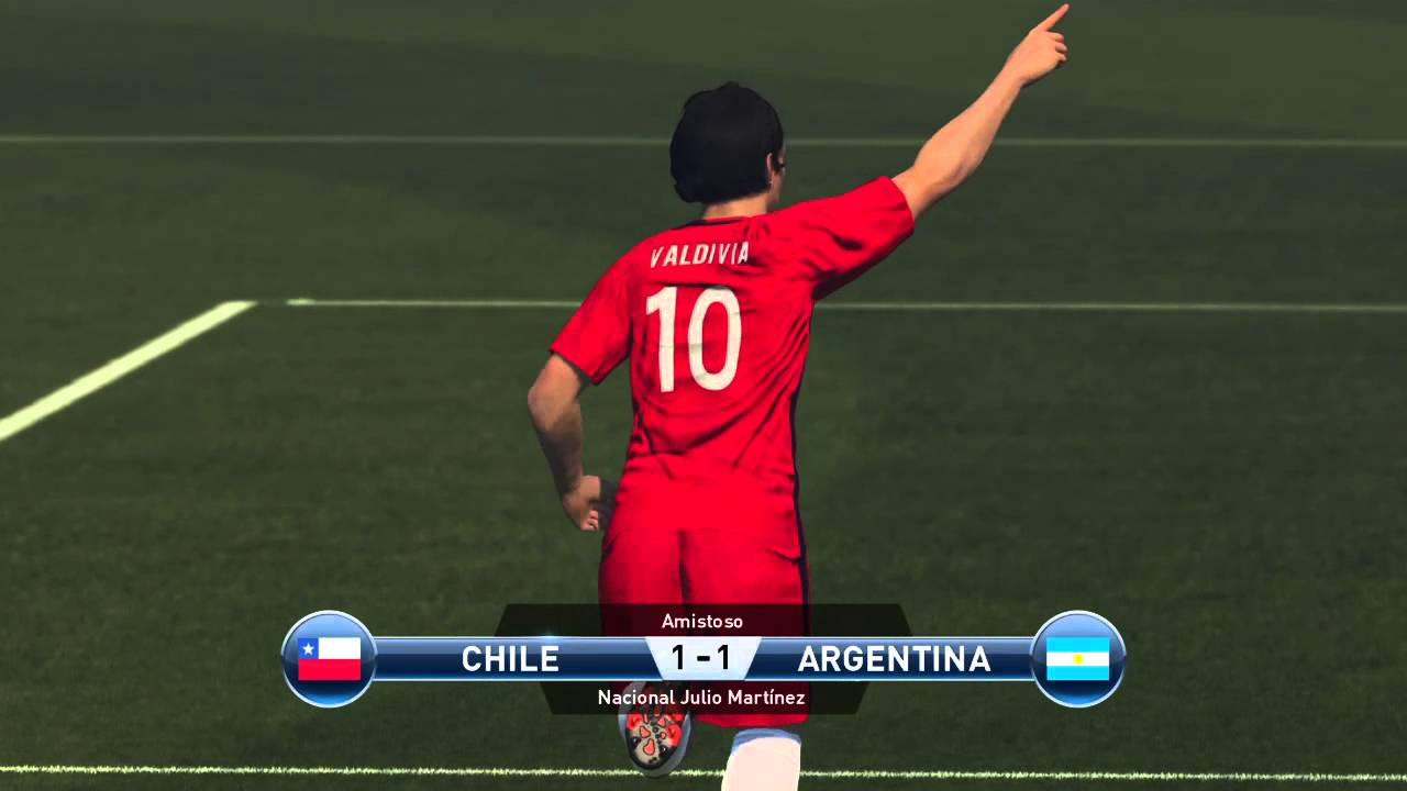 31ad468198fb8 Kit Chile Copa America Centenario Vs Argentina Pes 2016 Ps4 - YouTube