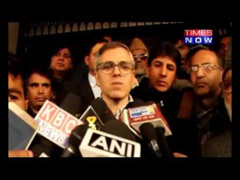 OMAR ABDULLAH SPARKS CONTROVERSY
