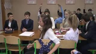 Урок з української мови, проведений Антоновою Н.М. у 7-му класі