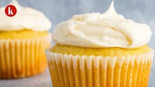 Vanilla Cupcakes For Two Recipe